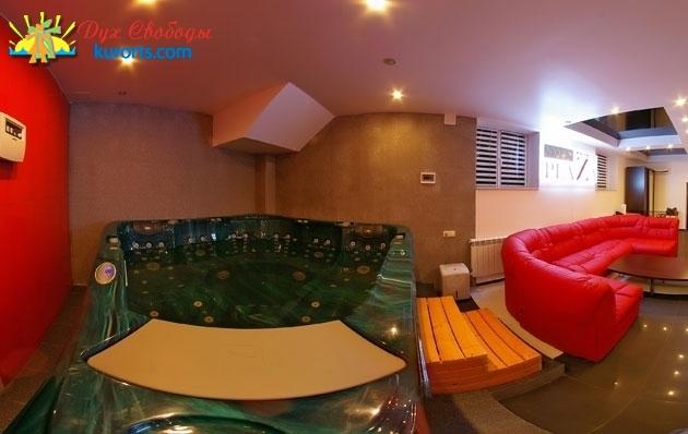 Спа зона в отеля NyvkyPlaza