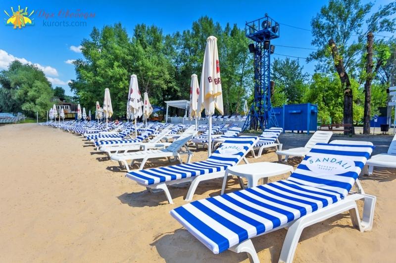 Пляж Sandali Киев